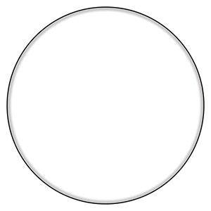アルミ白無地板 894−53 φ600