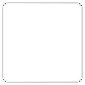 アルミ白無地板 894−54 600角