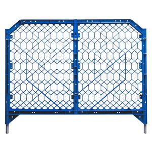 ディックフェンス 958−01 ブルー 脚パイプ付き
