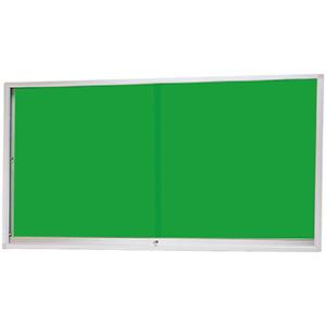 屋外用アルミ製掲示板 (壁面タイプ) KU−918A