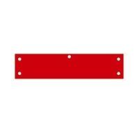 ビニール腕章 AW−74 (赤地文字無)