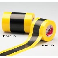 標識テープ トラテープ 無反射 90mm×10m 2巻入