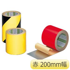 粗面用反射シート 赤 200mm×10M 6巻/箱