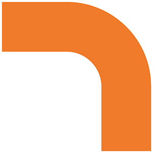 ベルデビバコーナーテープ(屋内推奨) 10枚 (2枚×5シート) オレンジ