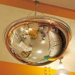 ドームミラー (天井吊下げ・室内専用) D100