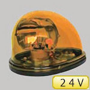 車載用電球式回転灯 黄 NY9256H1Y−24V