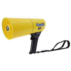 耐水型防水防じん仕様 ホイッスル音付 TD−504Y かる〜いホン 黄色