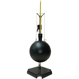 黒球温度計 グローブサーモメーター ベルノン式(架台付)