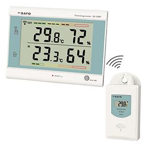 最高最低無線温湿度計 SK−300R