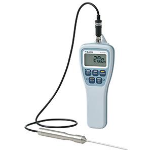 防水型デジタル温度計 SK−270WP センサ付