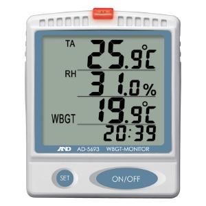 熱中対策 熱中症指数モニター AD−5693