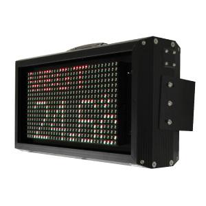 WBGT計用LED表示器 金具付 OSRD160−2SR1