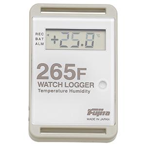 小型温湿度データミニロガー KT−265F 白