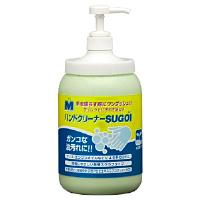 洗浄力アップ Mハンドクリーナー SUGOI ポンプ付ボトル