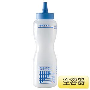 洗剤希釈ボトル 容器のみ (6本入/箱)