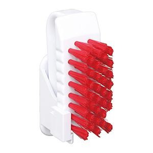 バーキュート(R)衛生管理用 私の爪ブラシホルダーセット BCNS−R 赤