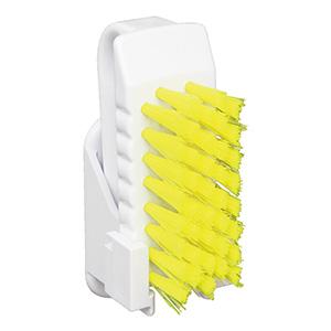 バーキュート(R)衛生管理用 私の爪ブラシホルダーセット BCNS−Y 黄