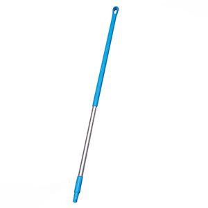 清掃用具 デッキブラシ用ハンドル B2935 (アルミ製) ブルー