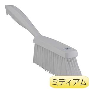 清掃用具 ベーカリーブラシ 4589 ミディアム 白
