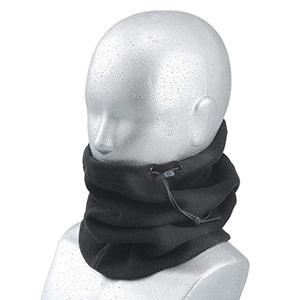 防寒 ネックウォーマーフリース 黒 B−87