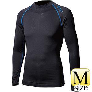 ロングスリーブ クルーネックシャツ JW−540 ブラック×ブルー M