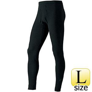 防寒 タイツ ジオラインEXP. ブラック Lサイズ