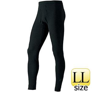 防寒 タイツ ジオラインEXP. ブラック LLサイズ