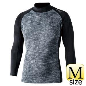 BTヒートブースト ハイネックシャツ JW−186 カモフラ×ブラック M