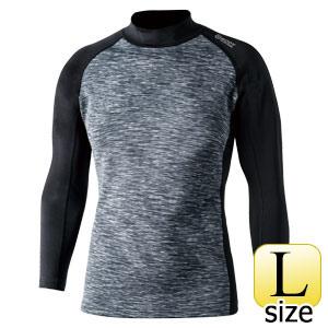 BTヒートブースト ハイネックシャツ JW−186 カモフラ×ブラック L