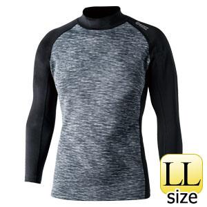 BTヒートブースト ハイネックシャツ JW−186 カモフラ×ブラック LL