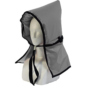 カラー防災頭巾 シルバー