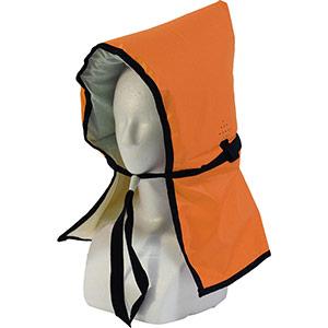 カラー防災頭巾 オレンジ
