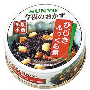 缶詰 ひじきふっくら煮 48缶入