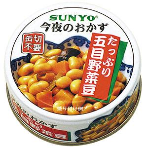 缶詰 たっぷり五目野菜煮 48缶入
