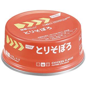 レスキューフーズ とりそぼろ缶 24缶/箱
