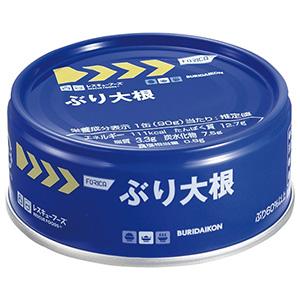 レスキューフーズ ぶり大根 24缶/箱
