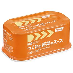 レスキューフーズ つくねと野菜のスープ 24缶/箱