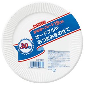 防災用品 紙皿 30枚入