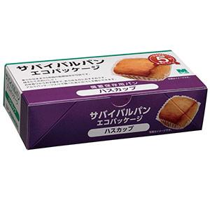ミドリ サバイバルパン エコパッケージ ハスカップ味 2個入×24箱/ケース