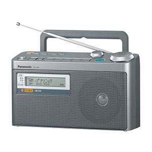 FM緊急警報放送対応ラジオ RF−U350