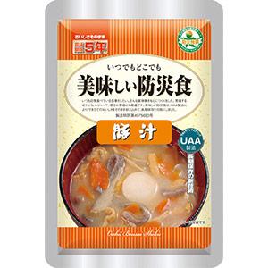 長期保存食 美味しい防災食 豚汁 50パック入