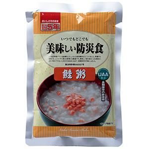 保存食 UAA 美味しい防災食 鮭粥 (50袋入)