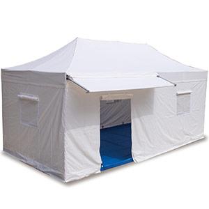 V3 災害対策用 ワンタッチ避難所テント