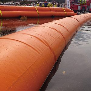 大型水のう タイガーダム 本体 固定ベルト3本付き