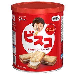 ビスコ保存缶 10缶/箱×4箱(40缶/箱)