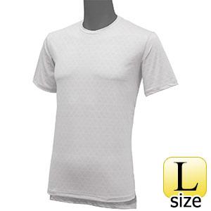 フリーズテックライフスタイル インナーシャツ 半袖クルーネック ホワイト L