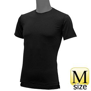 フリーズテックライフスタイル インナーシャツ 半袖クルーネック ブラック M