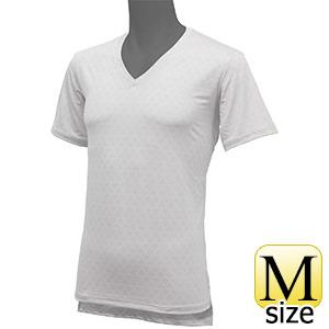 フリーズテックライフスタイル インナーシャツ 半袖Vネック ホワイト M