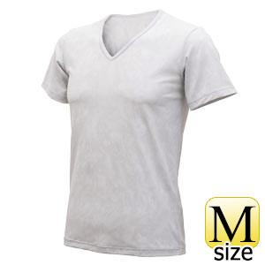 フリーズテック ライフスタイル 半袖VネックメッシュTシャツ グレー M