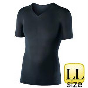 半袖Vネックシャツ JW−622 LL ブラック